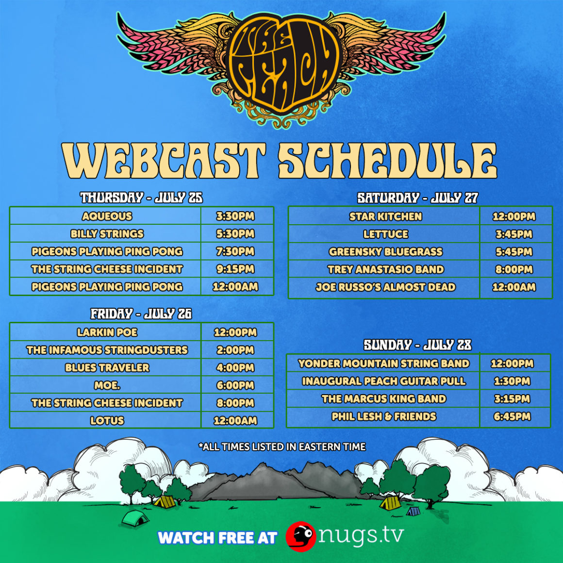 Watch Peach Festival 2019 Live on nugs.tv