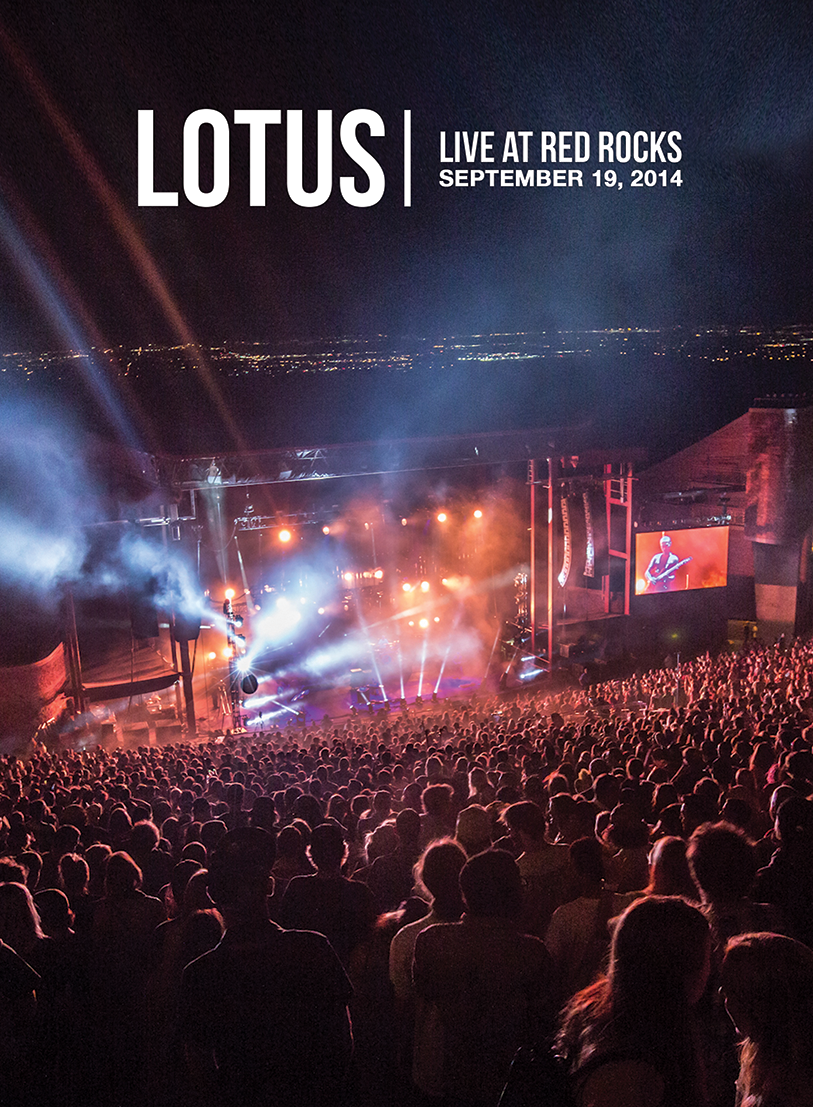Lotus  – Live at Red Rocks DVD Now Available