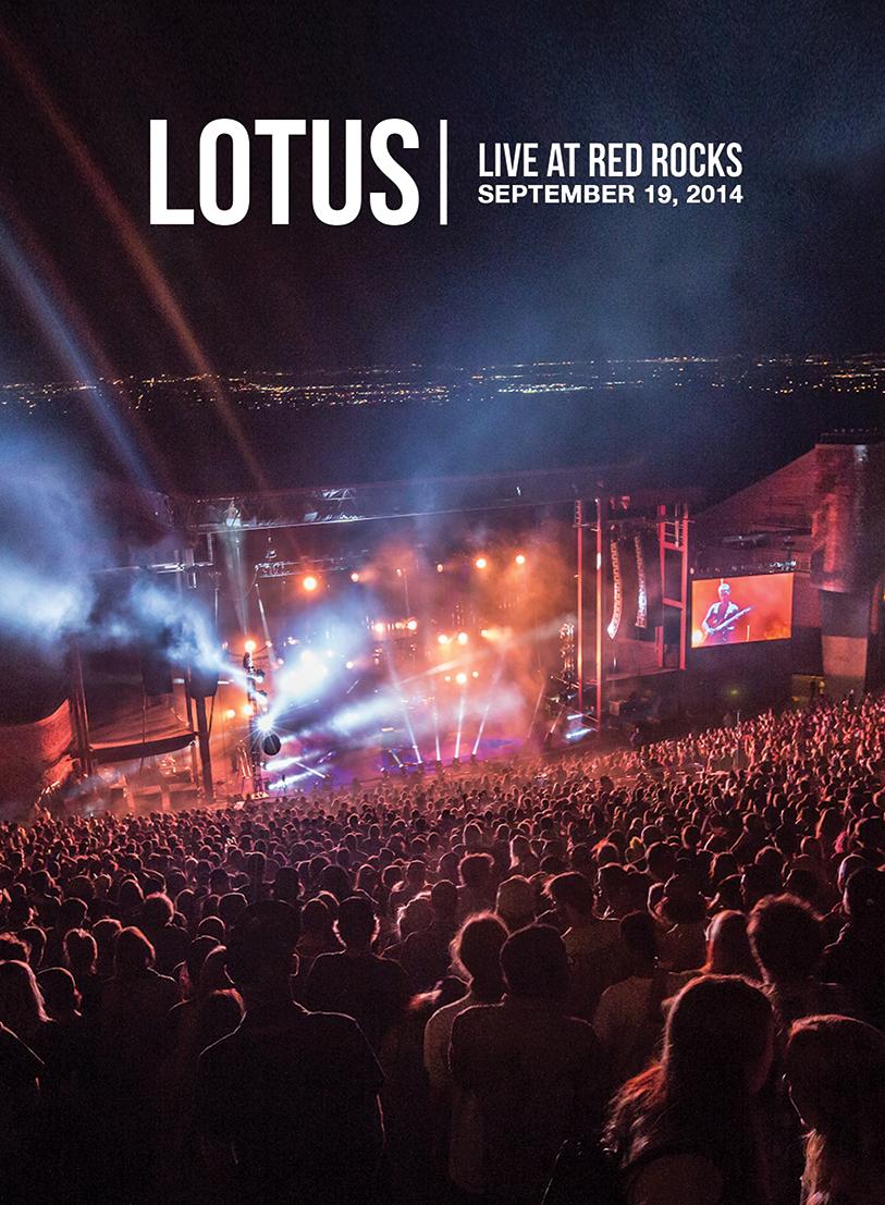 Lotus Live At Red Rocks DVD